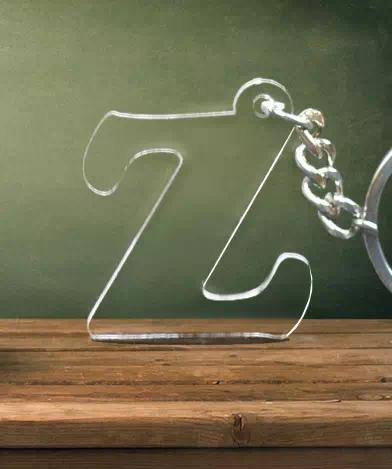 Z Shape Keychain