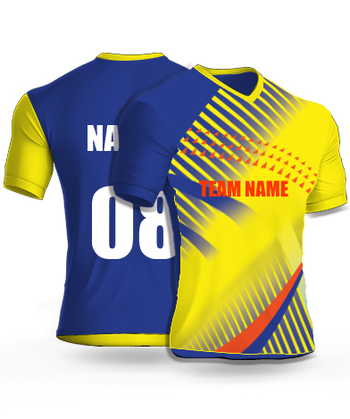 Celebrating Folks - Cricket Jersey or Sports T shirt with your name and number