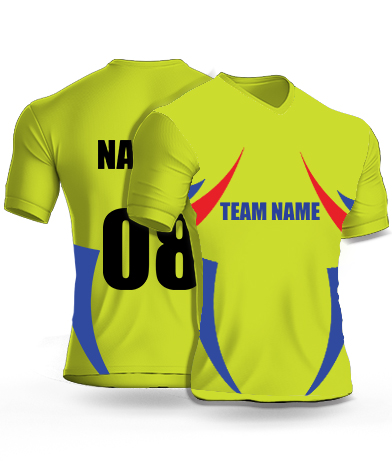 CSK IPL Cricket jersey or Sports T shirt