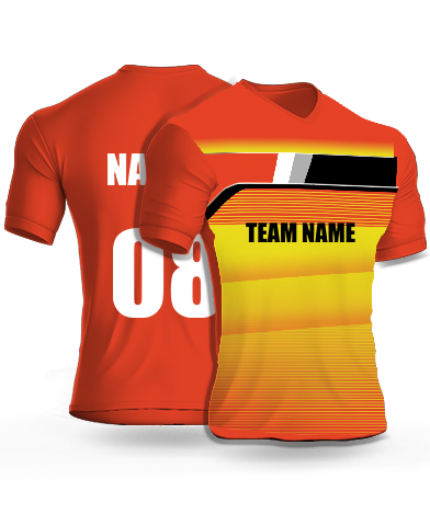 Flashers - Cricket Jersey or Sports T shirt with your name and number