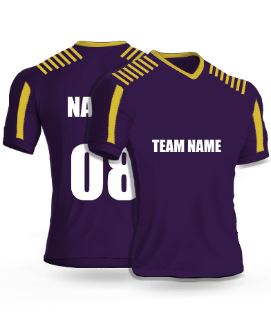 KKR IPL Cricket jersey or Sports T shirt
