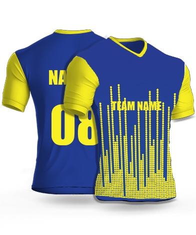 Multi Equilizers - Cricket Jersey or Sports T shirt with your name and number
