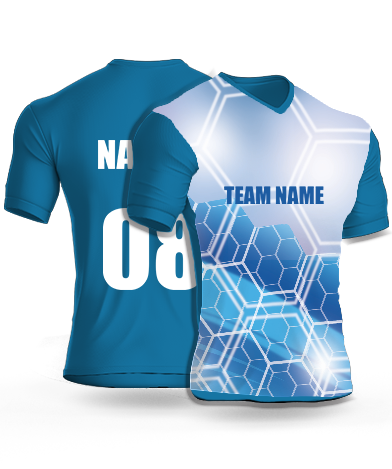 Multi Hexa - Cricket Jersey or Sports T shirt with your name and number