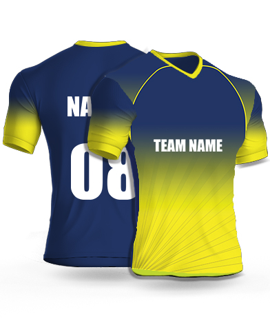 Shading Shines - Cricket Jersey or Sports T shirt with your name and number