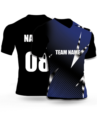 Silver Pointers - Cricket Jersey or Sports T shirt with your name and number