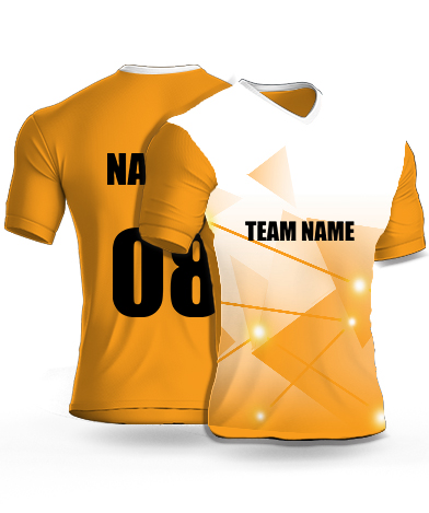 Sparkling Stars - Cricket Jersey or Sports T shirt with your name and number