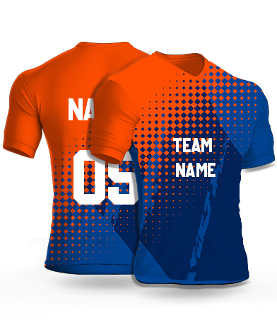kabaddi Jersey or Sports T shirt with your name and number(comics_lightning)