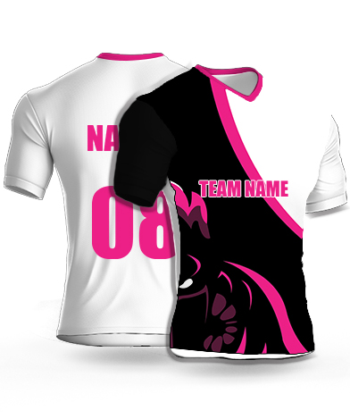 Dark Ninja - Cricket Jersey or Sports T shirt with your name and number(20)