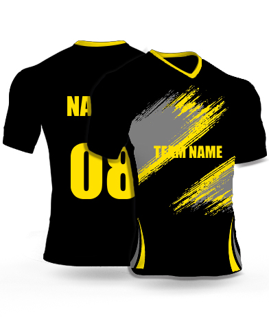 Dark Scratches - Cricket Jersey or Sports T shirt with your name and number(79)