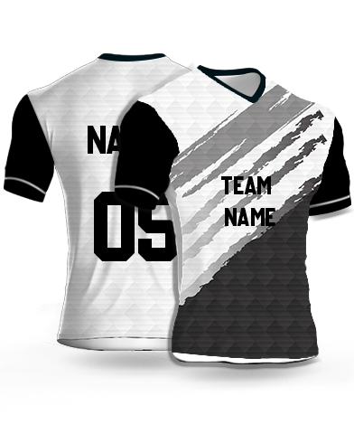 kabaddi Jersey or Sports T shirt with your name and number(dark_shadows)