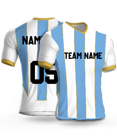 Dsgn12 - Football Jersey or Sports T shirt with your name and number(14)
