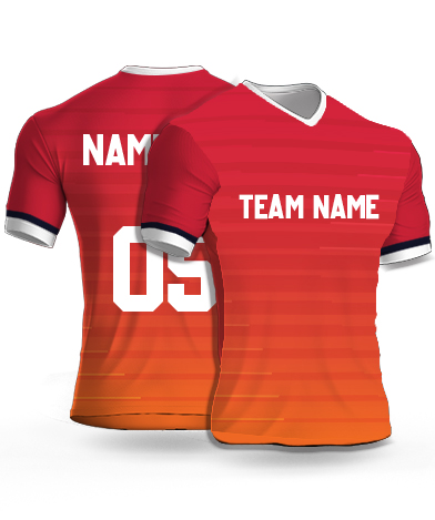 Dsgn14 - Football Jersey or Sports T shirt with your name and number(14)