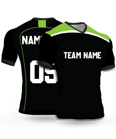 Dsgn18 - Football Jersey or Sports T shirt with your name and number(14)