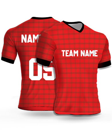 Dsgn1 - Football Jersey or Sports T shirt with your name and number(14)