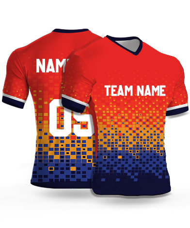 Dsgn2 - Football Jersey or Sports T shirt with your name and number(14)