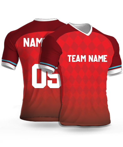 Dsgn6 - Football Jersey or Sports T shirt with your name and number(14)