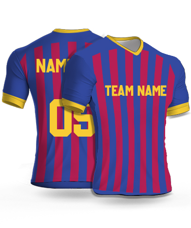 Dsgn8 - Football Jersey or Sports T shirt with your name and number(14)