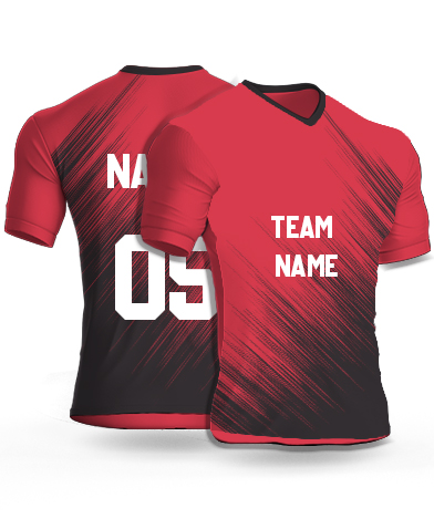 kabaddi Jersey or Sports T shirt with your name and number(fire_ants)