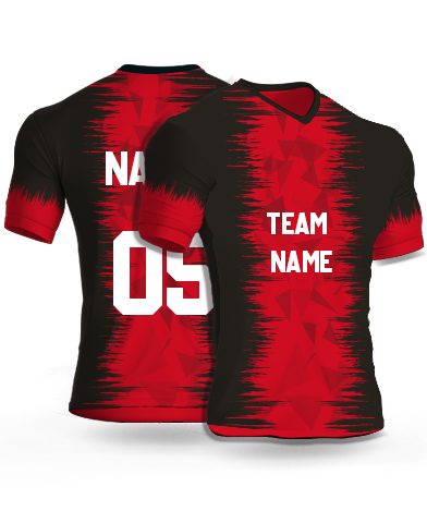 kabaddi Jersey or Sports T shirt with your name and number(fire_birds)