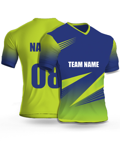 Four Spines - Cricket Jersey or Sports T shirt with your name and number(30)