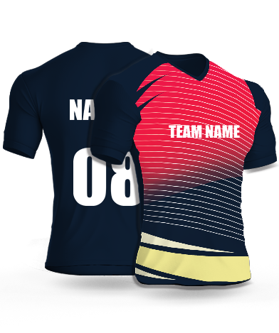 Frontlines - Cricket Jersey or Sports T shirt with your name and number(106)