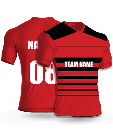 Gentle Strips - Cricket Jersey or Sports T shirt with your name and number(81)