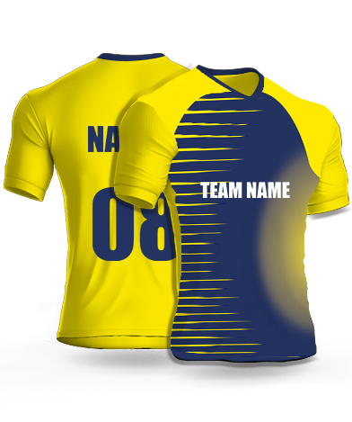 Hard Smashers - Cricket Jersey or Sports T shirt with your name and number(45)