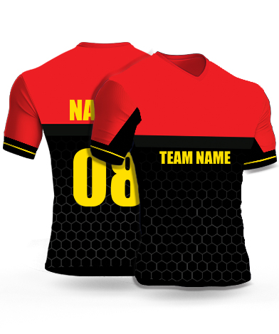 Hexa_Bengaluru - Cricket Jersey or Sports T shirt with your name and number(56)