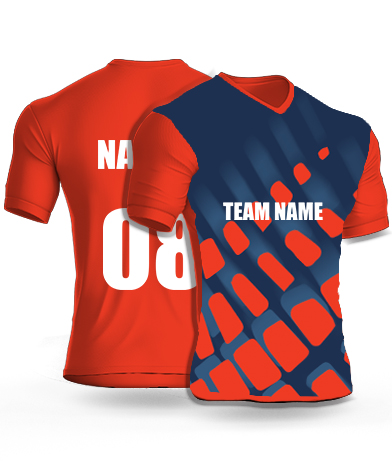 Incremental Tiles - Cricket Jersey or Sports T shirt with your name and number(48)