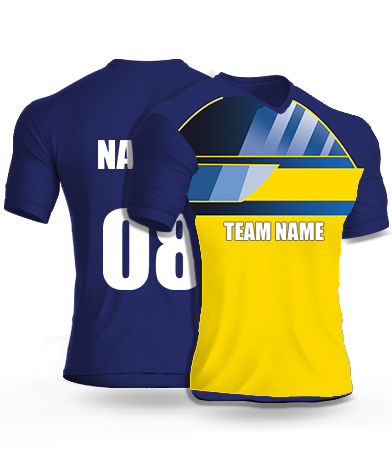 Lampster - Cricket Jersey or Sports T shirt with your name and number(27)