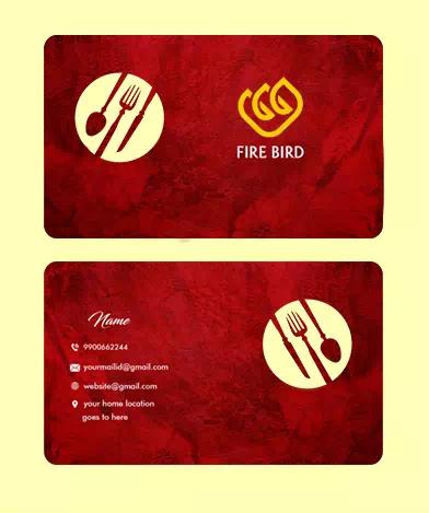 Red Restaurant Design