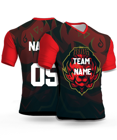 kabaddi Jersey or Sports T shirt with your name and number(14)