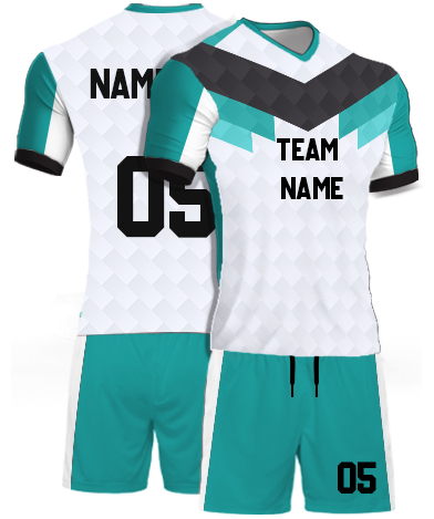 kabaddi Kit Jersey or Sports T shirt with your name and number(low_poly)