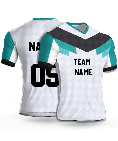 kabaddi Jersey or Sports T shirt with your name and number(low_poly)