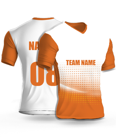 Nice Dots - Cricket Jersey or Sports T shirt with your name and number(50)