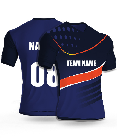 Nicky Spots - Cricket Jersey or Sports T shirt with your name and number(49)