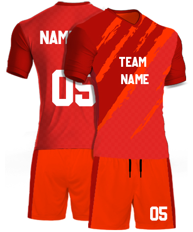 kabaddi Kit Jersey or Sports T shirt with your name and number(orange_monster)