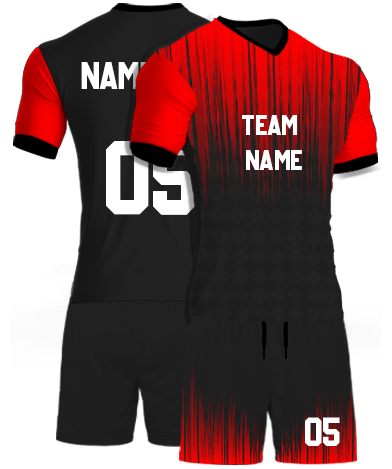 kabaddi Kit Jersey or Sports T shirt with your name and number(red_theater)
