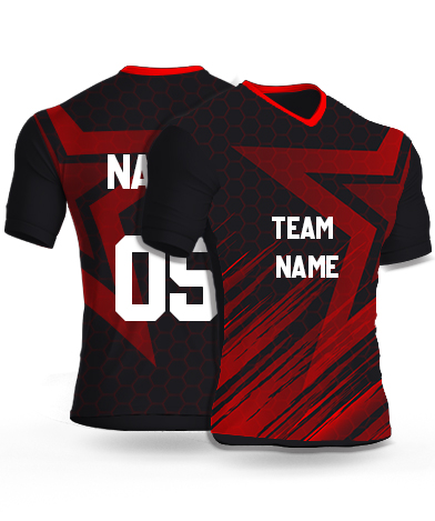 kabaddi Jersey or Sports T shirt with your name and number(romanov_star)