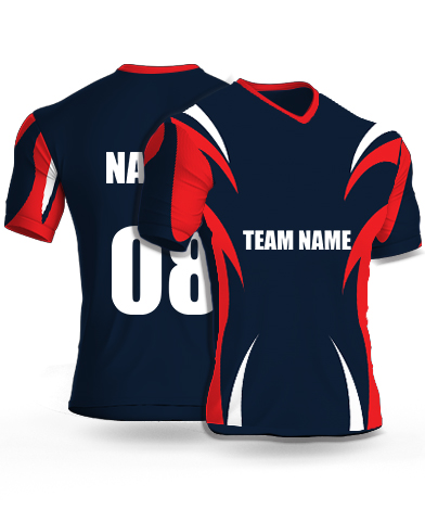 Side_Attackers - Cricket Jersey or Sports T shirt with your name and number(55)