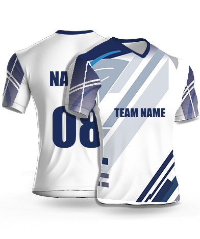 Skyscrapers - Cricket Jersey or Sports T shirt with your name and number(54)
