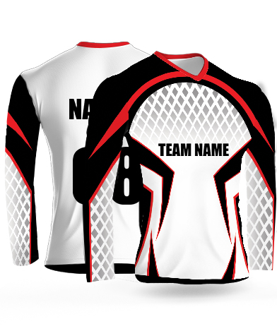 Spider Legs Full Sleeves - Cricket Jersey or Sports T shirt with your name and number(57)