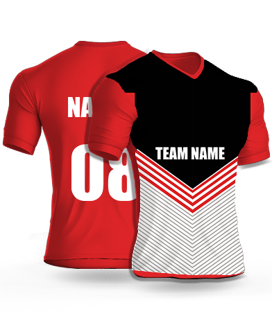 Strip Belt - Cricket Jersey or Sports T shirt with your name and number(92)