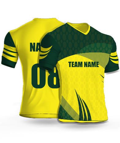 Western Green - Cricket Jersey or Sports T shirt with your name and number(21)